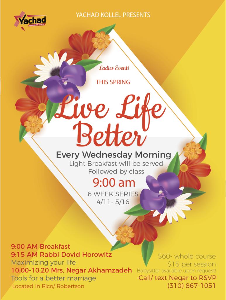 Live Life Better